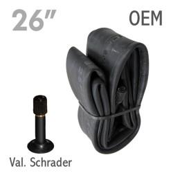 Cámara CYT 26x1.95/2.10 V. Schrader OEM 315