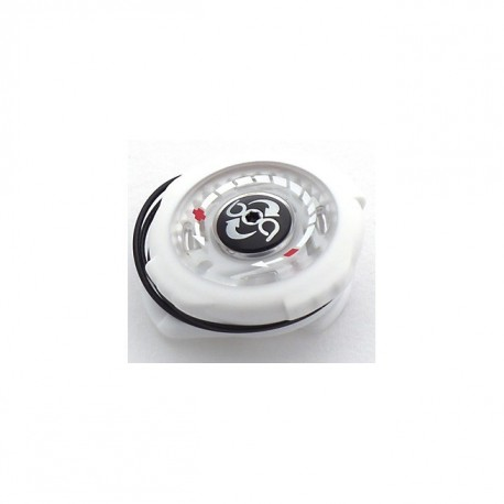 SHO BOA S2-SNAP LEFT DIAL W/LACE BLANCO/CLEAR/NEGRO SCREW