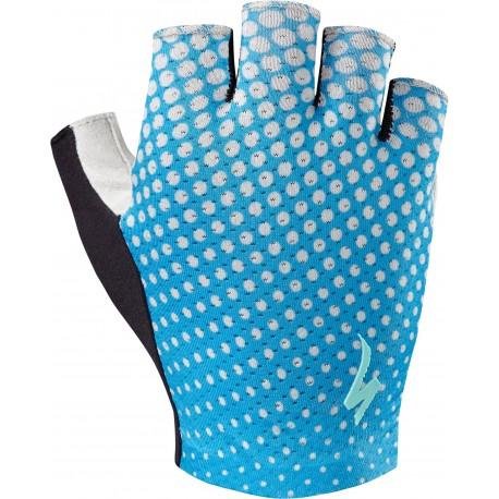 Bg Grail Glove Sf Wmn Neon Blu/Geo Crest S
