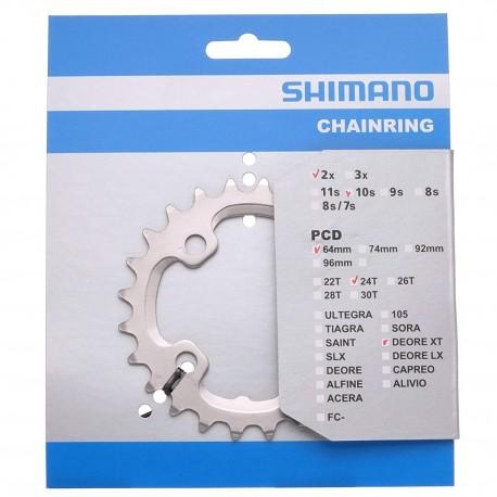 PLATO 24D SHIMANO M785 38/24 DOBLE 10V.