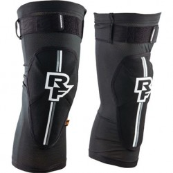 RACE FACE PROTECCION RODILLA INDY D30 - Talla : L, Color : NEGRO