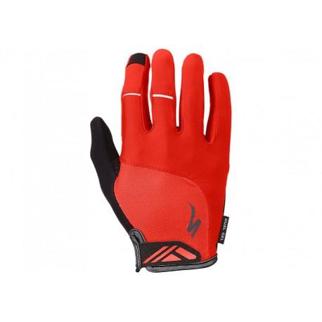 Bg Dual Gel Glove Lf Red Xl