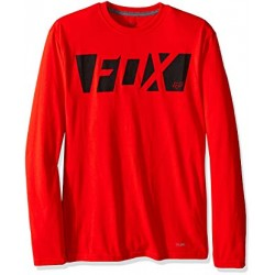 CEASE LS TECH TEE RED l