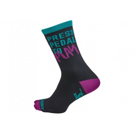 Mixtape - Road Tall Sock Logo L/Xl