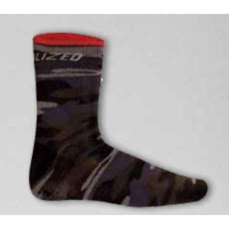 CAMOUFLAGE SOCK GRY M