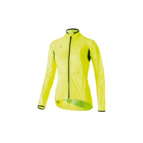 DEFLECT COMP JACKET WMN NEON YEL XL