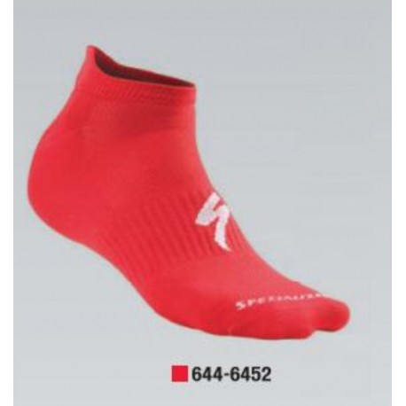INVISIBLE SOCK RED L