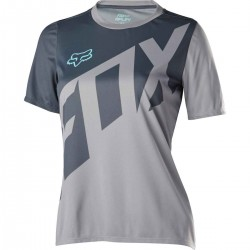 WOMENS RIPLEY SS JERSEY [ICE BLUE]M