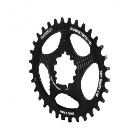 BLACKSPIRE PLATO DM SRAM OVAL 3MM.(BOOST) OFFSET - Talla : 32 NEGRO