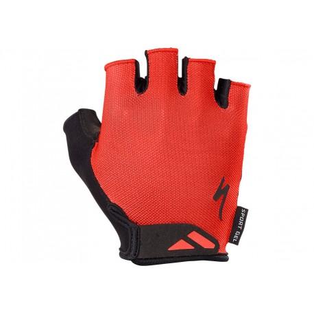 Bg Sport Gel Glove Sf Red Xl