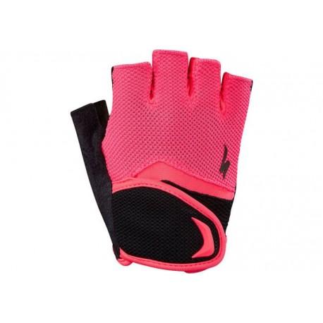 Bg Kids Glove Sf Blk/Acdred XL