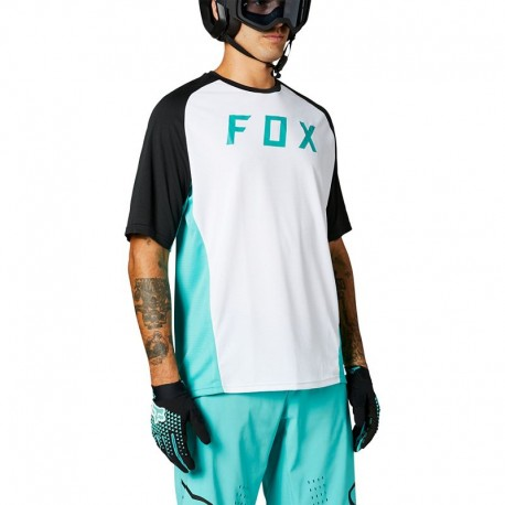 DEFEND SS JERSEY [TEAL] L