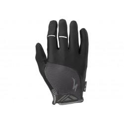Bg Dual Gel Glove Lf Blk L