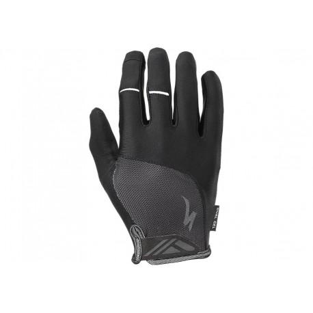 Bg Dual Gel Glove Lf Blk M