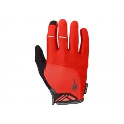 Bg Dual Gel Glove Lf Red L