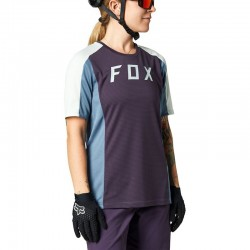 W DEFEND SS JERSEY [DRK PUR] S