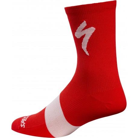 Road Tall Sock Red L