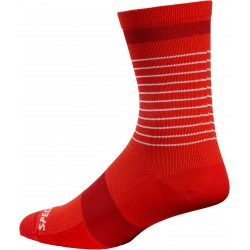 Road Tall Sock Red/Red M